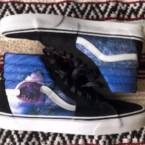 Vans Shoes | Vans X Shark Week Sk8hi